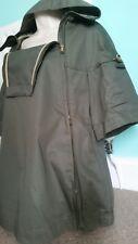 Sportmax Defilé Maxmara Jacket Cape Designer Italian Khaki Green Size 8-10