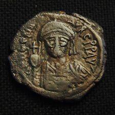 Æ Follis Maurice Tiberius Rv Large M 10.08 gr 27-30mm Constantinople Ad 582-602