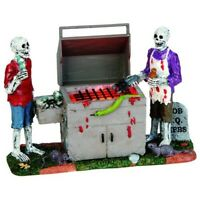Lemax Spooky Town Lighted Accessory - Gory Grillin
