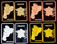 ★★ COLLECTION COMPLETE DE 4 MEDAILLES ● LA REGION NOUVELLE AQUITAINE ★★ R3