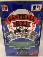 1989 upper deck low series wax box; ken griffey jr. rc - bbce Auth Unopened 🔥
