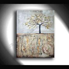 Abstrakte Malereien auf Leinwand mit Landschafts-Thema