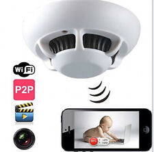 Modern Smoke Detector Hidden Security Camera WiFi Spy 1080P
