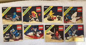 Lego. Classic Space X 8  6805. 6806. 6807. 6808. 6809. 6810. 6822.  6824.