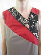 Laika by Dogstar Size 10 - 12 Khaki Brown Smart Casual Dress