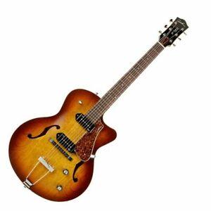 GODIN  5th Avenue CW Kingpin II Cognacburst Electric Guitar with case Hollowbody