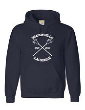 Beacon Hills Lacrosse Hoodie Teen Wolf Stilinski McCall All team NAVY BLUE COLOR