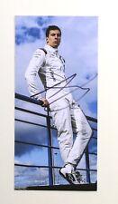 Alex Lynn Signed Promo Card Williams Formula 1 Genuine Autograph Memorabilia+COA