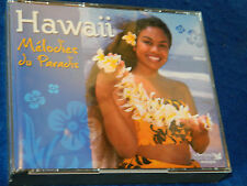 3 CD HAWAII melodies du paradis GUITARES & UKULELES hawai 72 TITRES