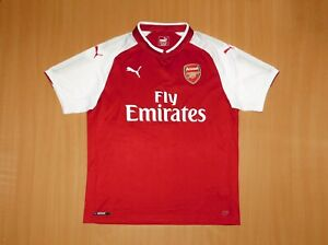* ARSENAL shirt 2017 2018 soccer L LARGE jersey PUMA London trikot 17 football