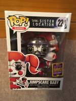 Funko Pop! FNAF Sister Location Jumpscare Baby 224 2017 Summer Convention Exclus