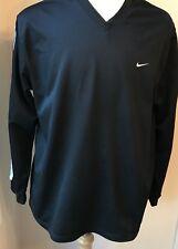 Men's Nike Shirt, V Neck Black,Size Xl Athletic Top, Long sleeve M 34