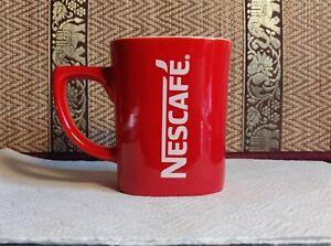 Nescafe Red Coffee Cup Mug Square Shaped