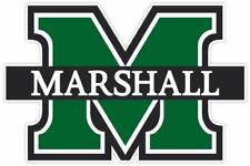 Marshall University Thundering Herd Vinyl Sticker Decal *SIZES* Cornhole Wall