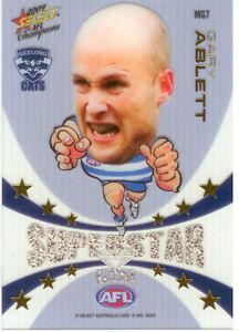 2009 Select AFL Champions Mascot Gem Card MG7: Gary Ablett (Geelong)