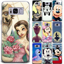 Disney Cute Cartoon Pattern Ultra Thin Phone Case Cover For Samsung and Google