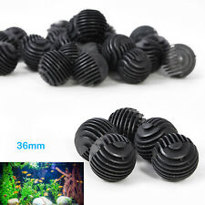 50 x 36-16mm Aquarium Fish Tank Filter Media Bio Ball For Canister Pond Cleaning