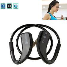 Bluetooth Sports Headset Stereo Headphone For Samsung Galaxy S9 S8 S7 Edge Lg Q6