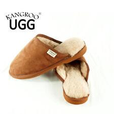 New Cozy Unisex Wool Australia Winter Warm Sheepskin Kangroo® Ugg Slipper Scuff