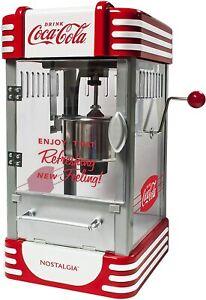 Nostalgia RKP730CK Coca-Cola 2.5-Ounce Popcorn Maker, Red