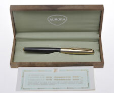 1963 Aurora 98 GL Riserva Magica solid 8k gold fountain pen new in box