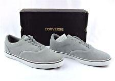 NIB CONVERSE All Star CVO LS OX Phaeton Grey Leather Skate Shoes Men's 11