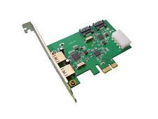 Controleur PCIE 2 ports USB 3 et 2 ports SATA III  6GB