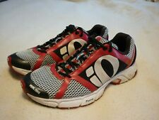 PEARL IZUMI SYNCRO FUEL RD II SHOES MEN'S 10 BLACK RED & WHITE