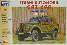 Stabsfahrzeug GAZ-69A, HO, 1/87, SDV, Plastikbausatz, NVA, *NEUHEIT*