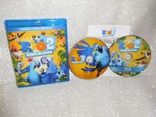 Rio 2: Sing-along (Blu-ray, DVD, Digital HD) MINT CONDITION!
