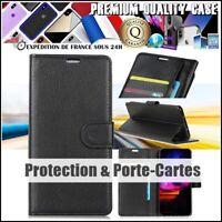 Etui Coque Housse Cuir PU Leather Wallet Case Asus ZenFone Max Pro M2 (ZB631KL)