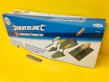 5PC Soft-Grip de Commerce Truelles Set Pointage Gauging Plâtrage Brique Dégauchisseuse 395016