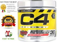 CELLUCOR C4 ORIGINAL 30 SERVES THE BEST EXPLOSIVE PRE-WORKOUT + FREE SHIPPING