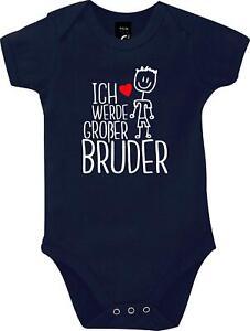 Baby Body Ich werde großer Bruder