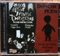 "DEPECHE MODE : ""Live Kroq - Almost acoustic Christmas"" (RARO CD)"
