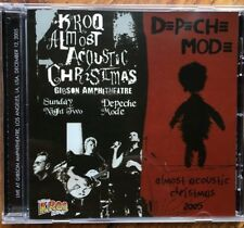 "DEPECHE MODE : ""Live Kroq - Almost acoustic Christmas"" (selten CD)"