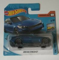 2019 Kia Stinger GT Hot Wheels 2020 Caja L Factory Fresh 3/10 Mattel