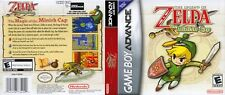 The Legend of Zelda The Minish Cap GBA Reproduction Cover Art (No Game, No Box)