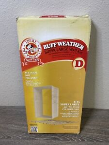 Ideal Pet Ruff-Weather Pet Door Wall Installation Kit Super Large