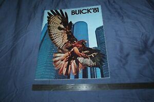 (MN2/C) Large Brochure Catalogue 1981 BUICK '81