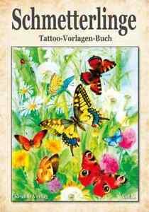 Schmetterling Vorlagen Zeichnen Tattoo reich bebildert Sketchbook Buch lernen