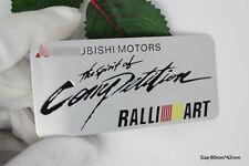 D150 Ralliart Auto 3D Emblem Emblem Badge Aufkleber Car Sticker for Mitsubishi
