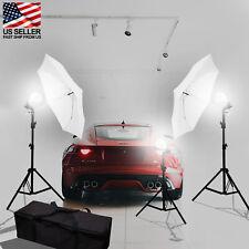 Photo studio Kit Video Lighting kit /stands umbrellas Led Lamp Professional use