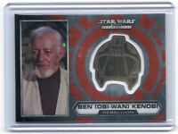 Topps Star Wars Chrome Perspectives Obi-Wan Kenobi GOLD helmet medallion card #2