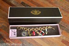 BNIB Juicy Couture Nautical Sea Sail Charm Bracelet / Watch - Retail Value: $495