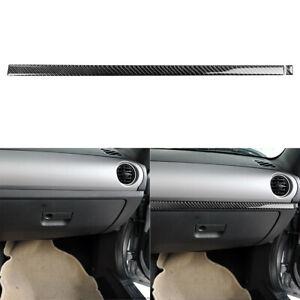 Carbon Fiber Interior Copilot Dashboard Panel Trim For Mazda MX-5 Miata 2009-15