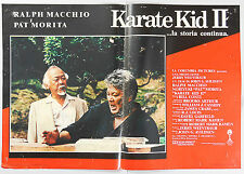 FOTOBUSTA 4, KARATE KID II The Karate Kid, Part II PAT MORITA, MACCHIO POSTER