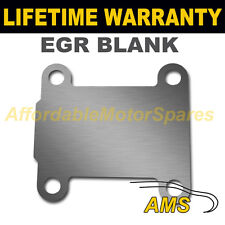 VAUXHALL OPEL VECTRA ZAFIRA SIGNUM ASTRA EGR VALVE BLANKING PLATE 1.5MM STEEL NZ