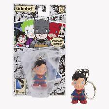 "DC Universe Superman 1.5"" Kidrobot Licensed Vinyl Key Chain"