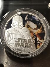 STAR WARS: The Force Awakens ~ CAPTAIN PHASMA ~ 1 oz .999 Silver Colorized Coin